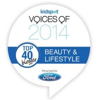 I'm a Top 40 blogger in the Kidspot Voices of 2014
