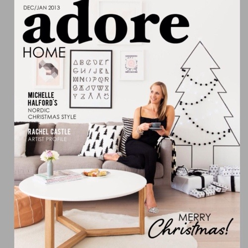 Adore Home Magazine December 2013 Issue Online Now