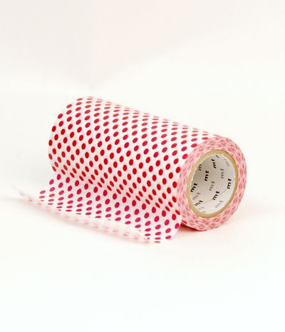 MT_Casa_-_Red_Dots_-_100mm_is_a_single_roll_of_super_wide_10cm_MT_Tape_large