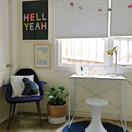 A New Study Nook For $150.00