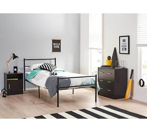 Beds such as the Bingo Single bed for only  69 00 is a great base for  building a kids bedroom  With its sturdy black frame  its the perfect  colour for. Fantastic Furniture For Kids Bedrooms   The Stylist Splash