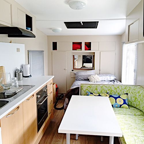 Our caravan makeover the stylist splash Diy caravan interior design ideas