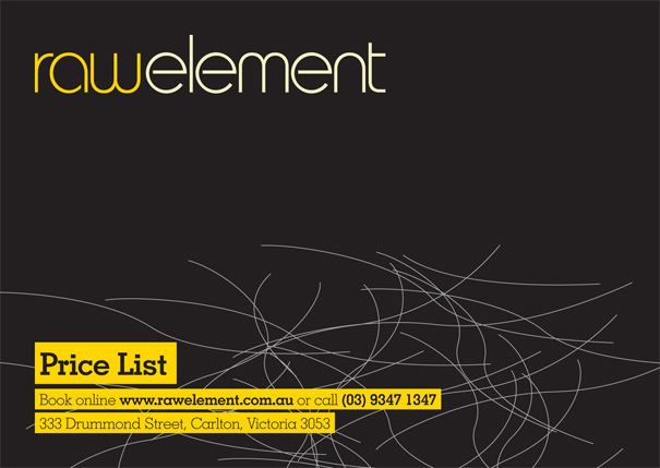 rawelement-pricelist
